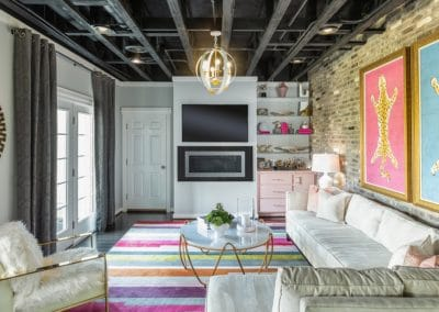 Eclectic Family Room (2)