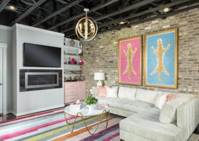 Eclectic Family Room (3)